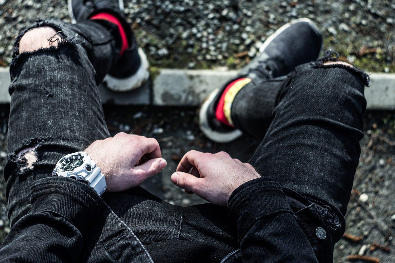 Spodnie jeansowe - historia