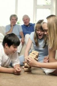 Klocki z drewna - klocki drewniane do zabawy dla dzieci - LINDEN