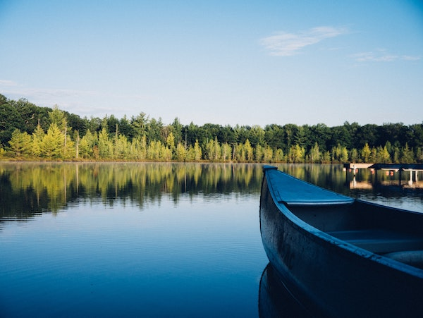 Domki nad jeziorem Sławskim