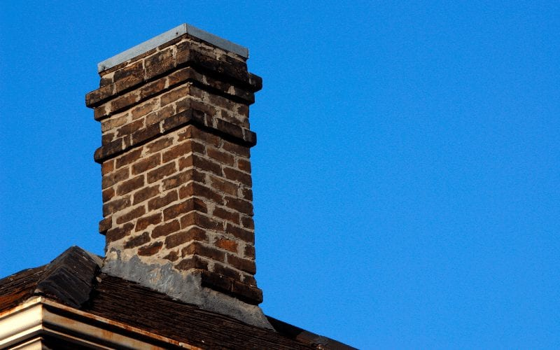 Frezowanie kominów - komin.